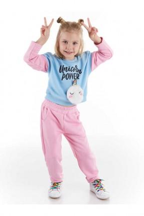 بيجاما رياضة اطفال بناتي مزينة بجيوب