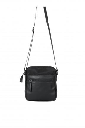 حقيبة يد رجالية سادة اللون - اسود
