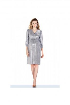 فستان رسمي حمل مزين بالترتر