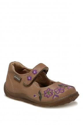 حذاء بيبي بناتي مزين بنقش ازهار