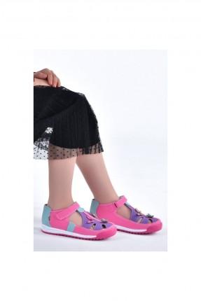 حذاء اطفال بناتي مزين بفراشات