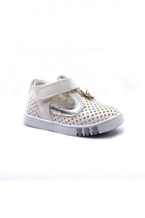 حذاء بيبي بناتي مزين بثقوب