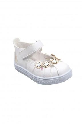 حذاء اطفال بناتي مزين بازهار