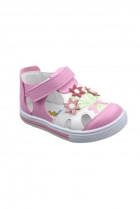 حذاء بيبي بناتي مزين بازهار