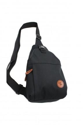 حقيبة يد رجالية مزينة بطبعة