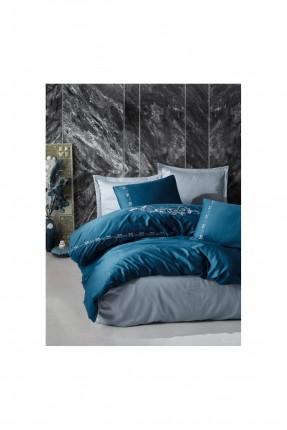 طقم غطاء سرير مزدوج شيك