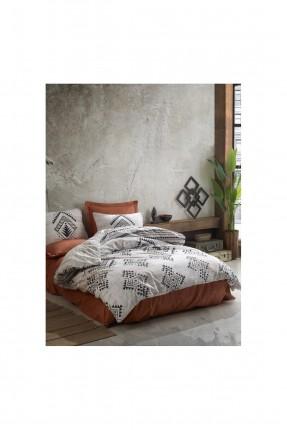 طقم غطاء سرير فردي برسم