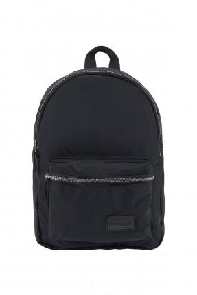 حقيبة ظهر نسائية مزينة بجيب من الامام