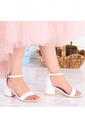 حذاء اطفال بناتي مزين بحزام