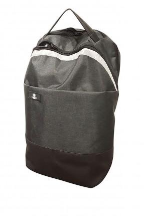 حقيبة ظهر نسائية مزينة بخط مغايرة اللون