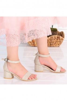 حذاء اطفال بناتي سادة اللون