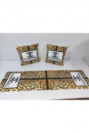 غطاء طاولة + وسادتين