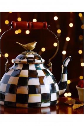 لوحة كريستال ماكينزي إبريق شاي مارسيل فن ألغاز فسيفساء ماسية 30x40