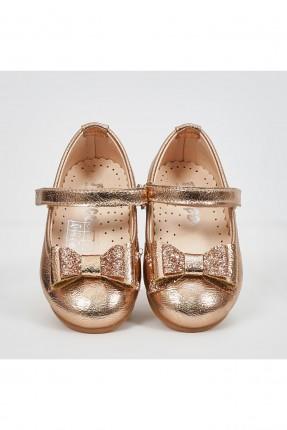 حذاء بيبي بناتي مزين بلمعة