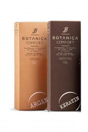 مجموعة العناية لإصلاح الشعر التالف بوتانيكا كومفورت (زيت أركان 100 مل + زيت كيراتين 100 مل)