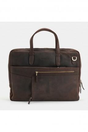 حقيبة يد رجالية مزينة بسحابات