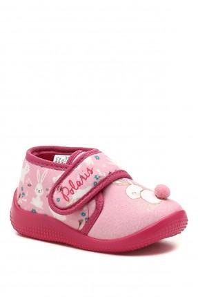 حذاء منزلي بيبي بناتي مزين بطبعة ارنب