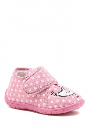 حذاء منزلي اطفال بناتي منقط