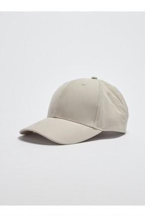 قبعة رجالية سادة المظهر