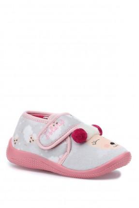 حذاء منزلي اطفال بناتي بلاصق