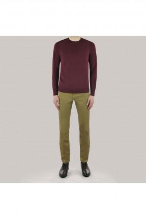 بنطال جينز رجالي سادة اللون