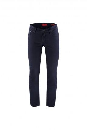 بنطال جينز رجالي مزين بازرار