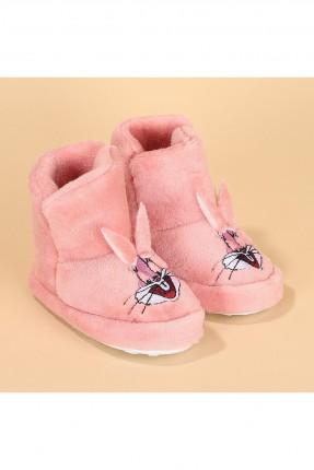 حذاء منزلي اطفال بناتي بطبعة
