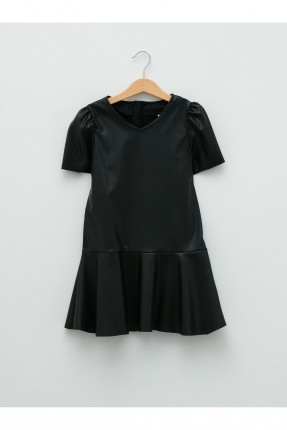 فستان اطفال بناتي سادة اللون