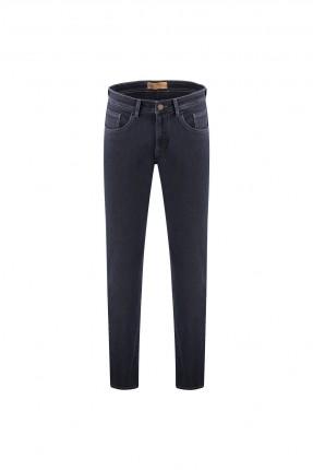 بنطال جينز رجالي مزين بشعار الماركة