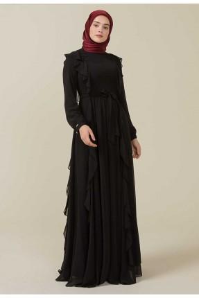 فستان رسمي مزين برباط
