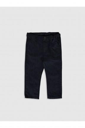 بنطال جينز بيبي ولادي سادة اللون