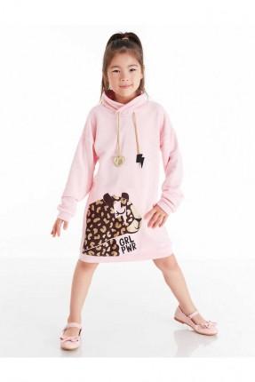فستان اطفال بناتي مزين برسمة