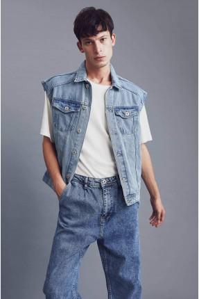 فيست جينز رجالي اوفر سايز