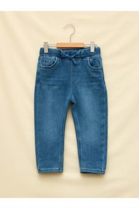 بنطال جينز بيبي ولادي خصر مطاط