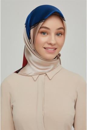 حجاب تركي بطبعة اسم الماركة