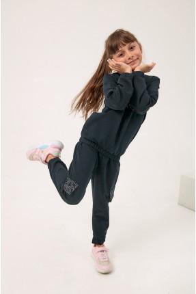 بيجاما رياضية اطفال بناتي مزينة بسحاب