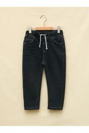 بنطال جينز بيبي ولادي مزين بجيوب