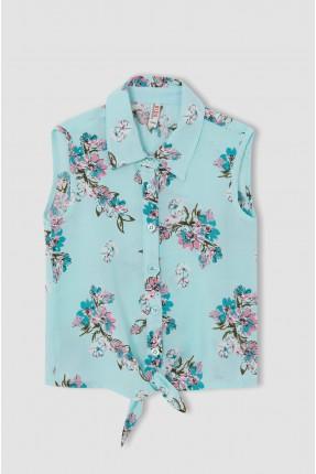 قميص اطفال بناتي مزين بربطة