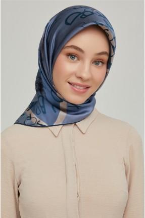حجاب تركي بطبعة ورد