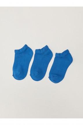 جوارب اطفال ولادي عدد 3 سادة