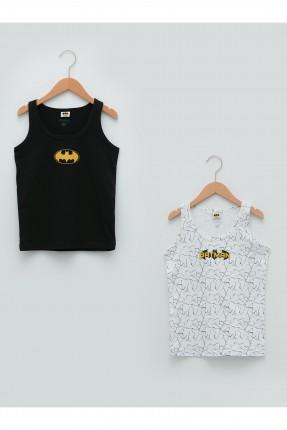 تيشرت اطفال ولادي عدد 2 بطبعة Batman