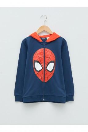 جاكيت اطفال ولادي بطبعة Spiderman