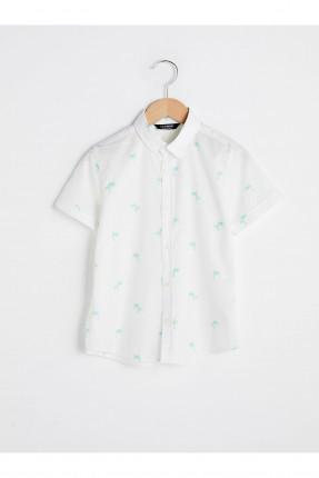 قميص اطفال ولادي بنقشة