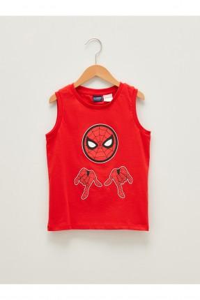 تيشرت اطفال ولادي حفر بطبعة Spiderman