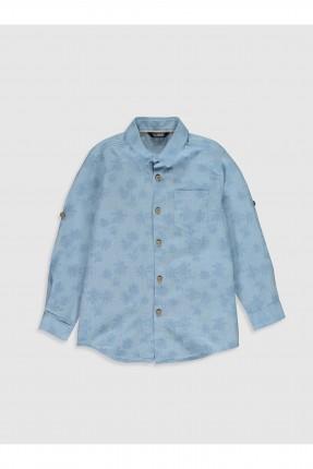 قميص اطفال ولادي مزين بازرار