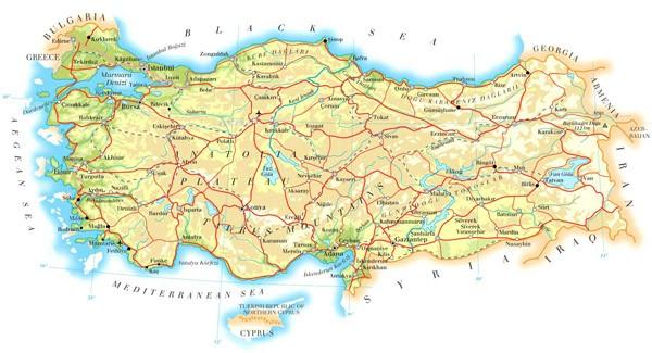 معلومات عن تركيا الاسم المساحة السكان تركيا ادويت
