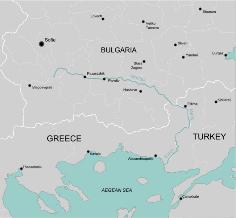 حدود اليونان المعرفة