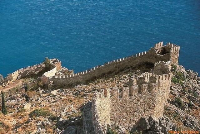 """نتيجة بحث الصور عن القلعة البيزنطية ألانيا تركيا"""""""