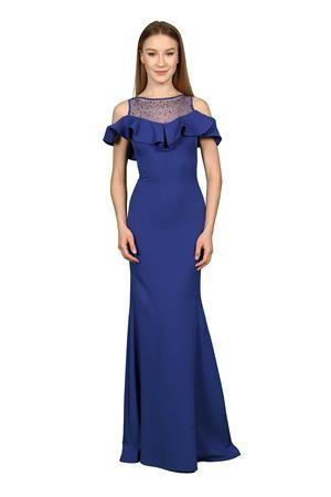 3093a4dfb فستان سهرة بتصميم فرنسي | السعر : 40 دولار امريكي | تركيا - ادويت