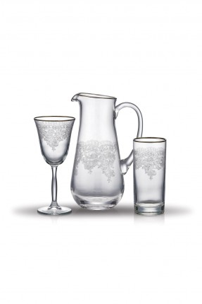 طقم زجاج للشرب / 25 قطعة